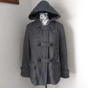 Merona Gray Pea Coat